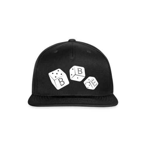 black box_vector2 - Snap-back Baseball Cap