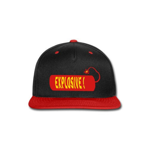 explosive - Snap-back Baseball Cap