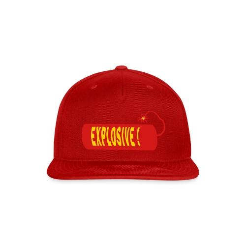 explosive - Snap-back Baseball Cap