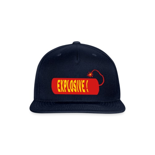 explosive - Snapback Baseball Cap