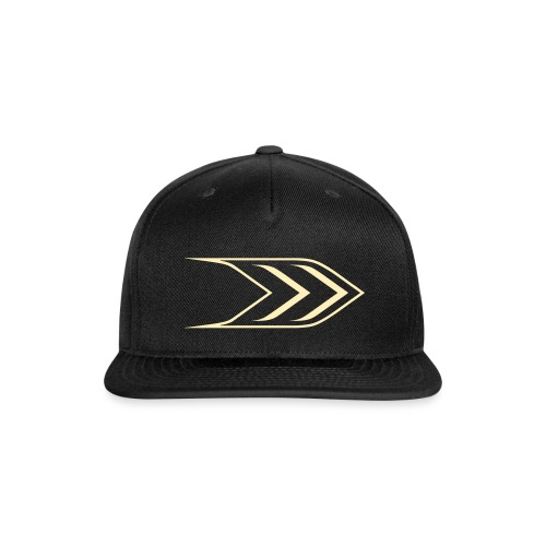 Arrow Outline - Snap-back Baseball Cap