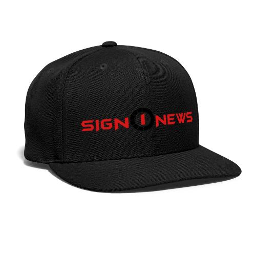 Sign1 Fashion - Snap-back Baseball Cap