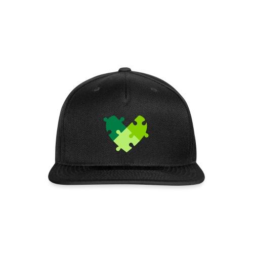 Heart Puzzle - Snap-back Baseball Cap