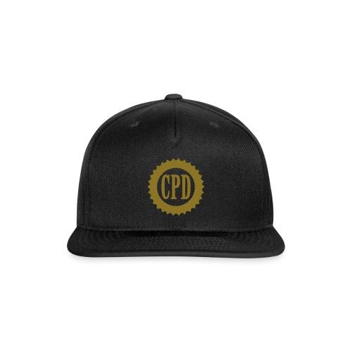 CPD Minimal - Snap-back Baseball Cap
