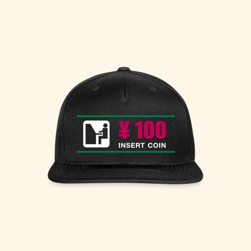 100 Yen - Snap-back Baseball Cap