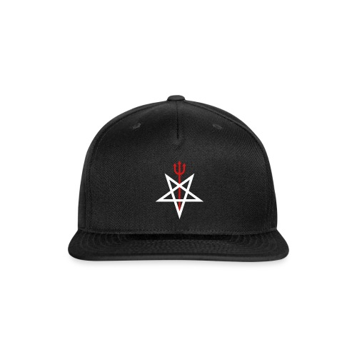 Pitchfork Pentagram - Snap-back Baseball Cap