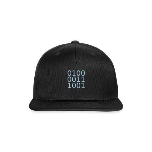 computing - Snap-back Baseball Cap