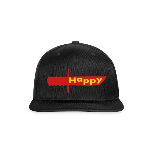 happy knife - Snapback Baseball Cap