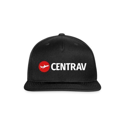 White Centrav Logo - Snap-back Baseball Cap