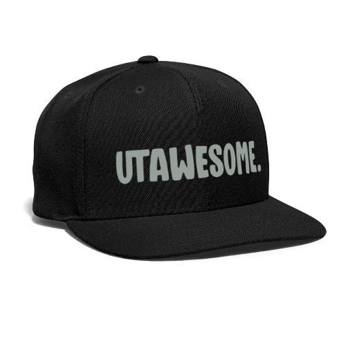 UTAWESOME Logo - Snapback Baseball Cap