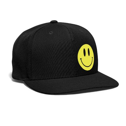 Smiley - Snap-back Baseball Cap