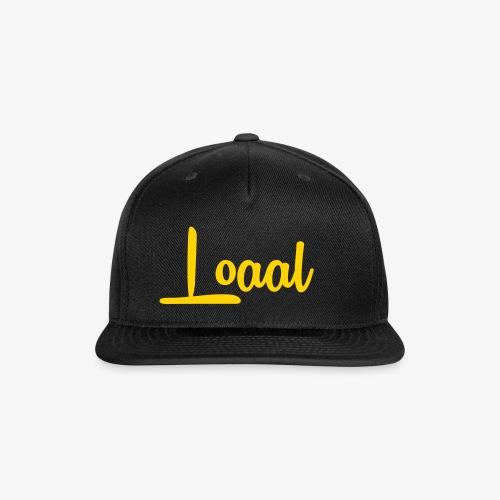 Loaal Original - Snap-back Baseball Cap