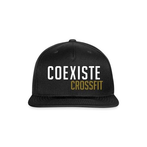 Coexiste Word - Snap-back Baseball Cap
