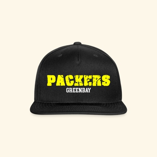 PACKERS - Snap-back Baseball Cap