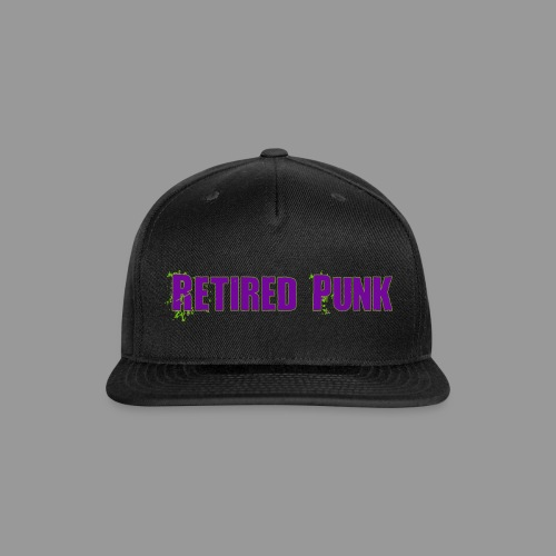 Retired Punk 001 - Snap-back Baseball Cap