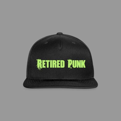 Retired Punk - Snap-back Baseball Cap