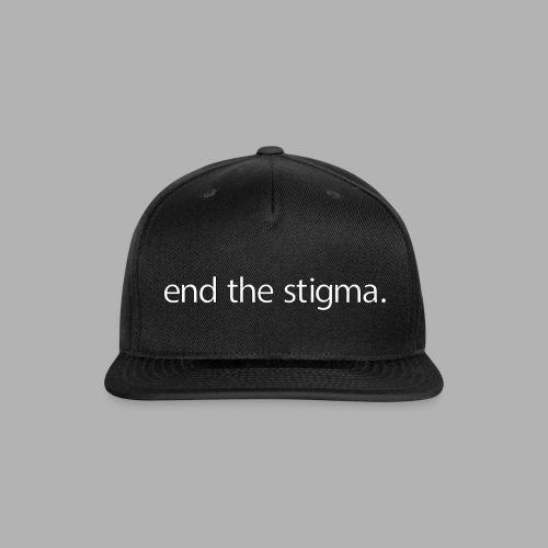 End the Stigma - Mental Health Shirt - Snapback Baseball Cap