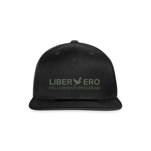 LiberEro logo - Snap-back Baseball Cap