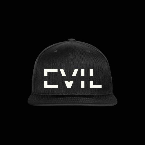 EVIL Logo - Snap-back Baseball Cap