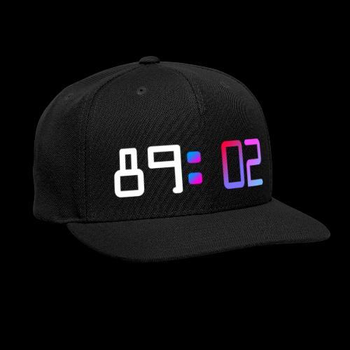 8902 - Snap-back Baseball Cap