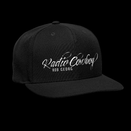 Radio Cowboy Merch - Front Design - Snapback Baseball Cap