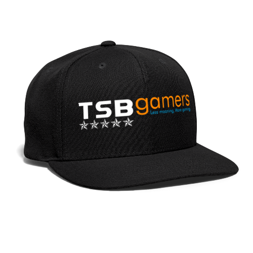 TSB White Website Logo FullColor - Snap-back Baseball Cap