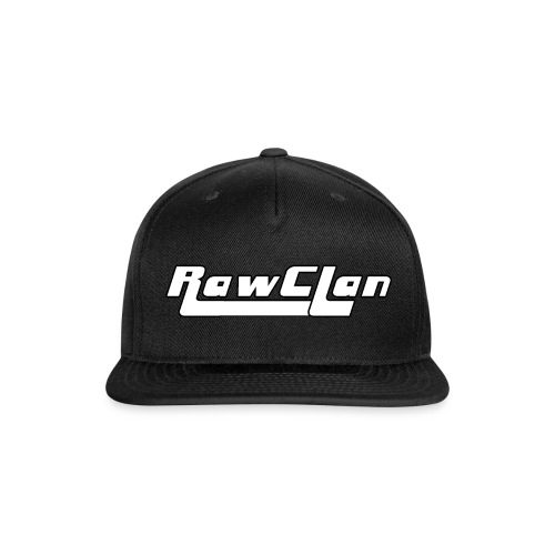 The Clan B&W - Snap-back Baseball Cap