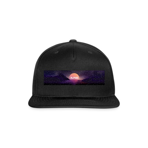 AlphieMerch - Snap-back Baseball Cap