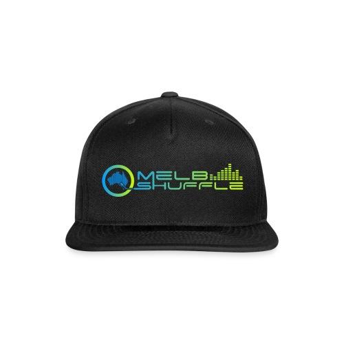 Melbshuffle Gradient Logo - Snapback Baseball Cap