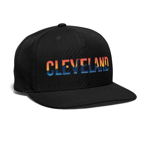 Cleveland Ohio Pride Illustration - Snap-back Baseball Cap