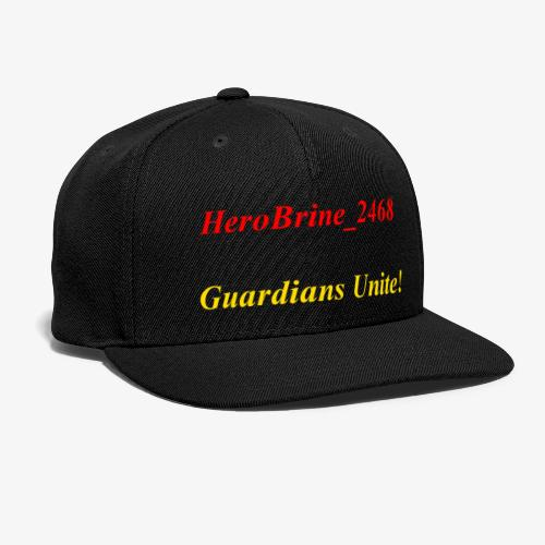 GUARDIANS UNITE - Snap-back Baseball Cap