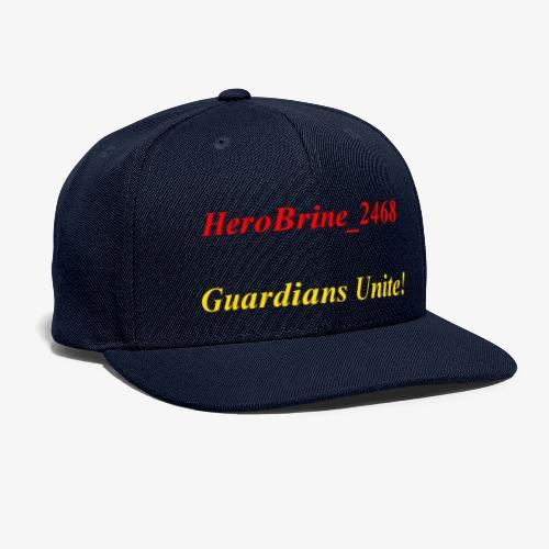GUARDIANS UNITE - Snapback Baseball Cap