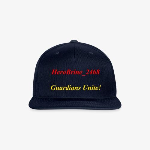 GUARDIANS UNITE - Snap-back Baseball Cap