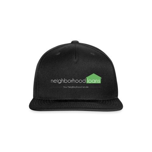 Neighborhood Loans Black Products - Snap-back Baseball Cap