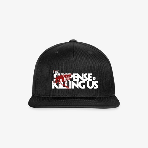 Suspense Is Killing Us Red Eye Logo - Snap-back Baseball Cap