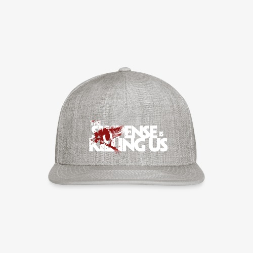Suspense Is Killing Us Red Eye Logo - Snapback Baseball Cap