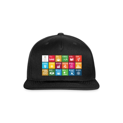 sustainability - Snap-back Baseball Cap