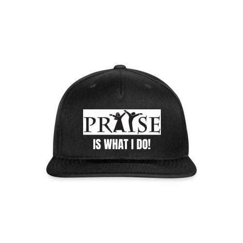 PRAISE is what i do! - Snapback Baseball Cap