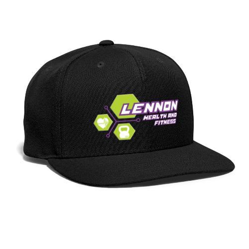 Lennon Health n Fitness Signature range - Snapback Baseball Cap