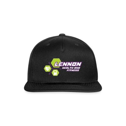 Lennon Health n Fitness Signature range - Snap-back Baseball Cap