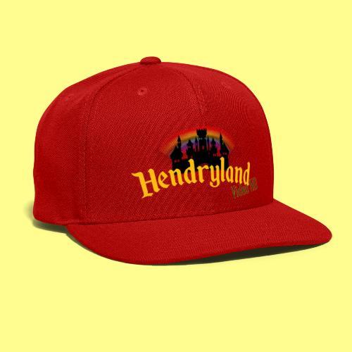 HENDRYLAND logo Merch - Snap-back Baseball Cap