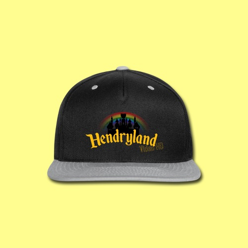 HENDRYLAND logo Merch - Snap-back Baseball Cap