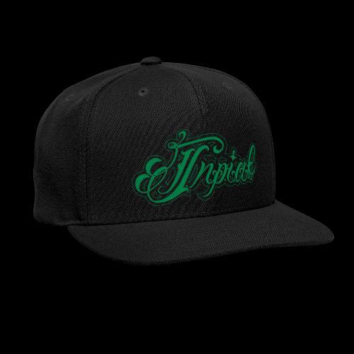Inpiab lowercase - Snap-back Baseball Cap