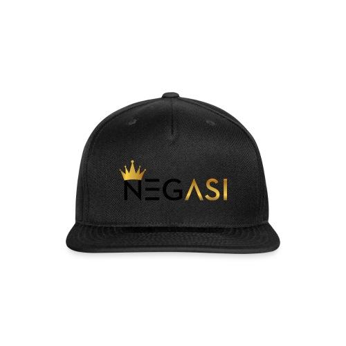 NEGASI - Snap-back Baseball Cap