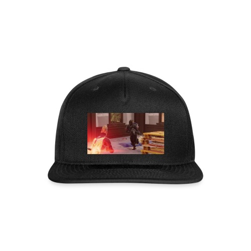 Drift and Black Knight about to collide - Snap-back Baseball Cap