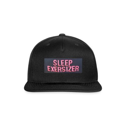 Sleep Exersizer Words - Snap-back Baseball Cap