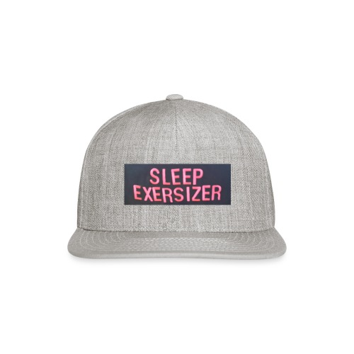 Sleep Exersizer Words - Snapback Baseball Cap
