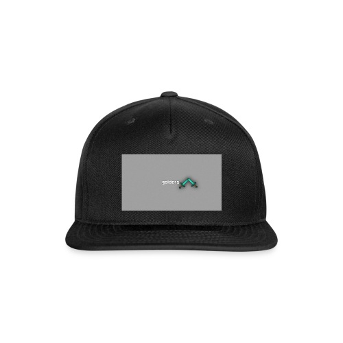 backgrounder-3- - Snap-back Baseball Cap