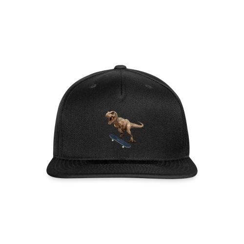 T-Rex Kickflip - Snap-back Baseball Cap
