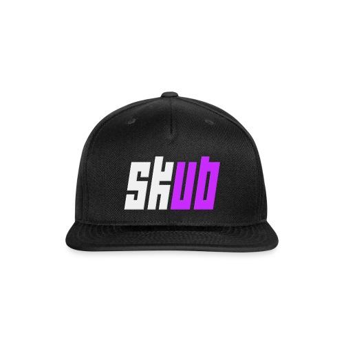 SKUB logo - Snap-back Baseball Cap